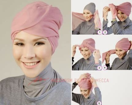 tutorial hijab turban ala zaskia 23 tutorial hijab zaskia adya mecca pashmina segi empat