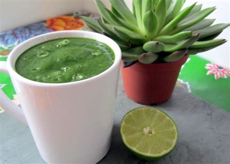 Collard Green Detox Smoothie by Tropical Collard Green Smoothie Sweet Potato Soul By