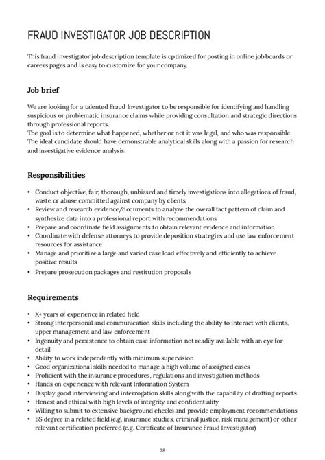 opm resume template background investigator position description background ideas