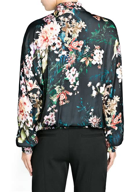 Print Jacket printed bomber jacket womens jacketin