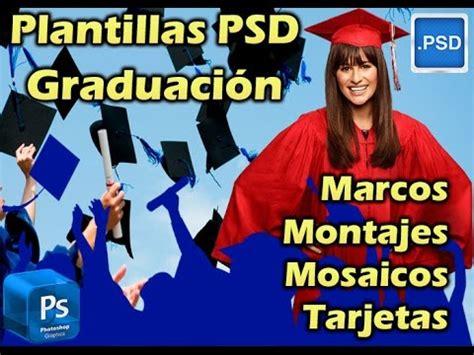 Marcos Psd Graduacion | pack plantillas psd para photoshop graduaci 243 n grados