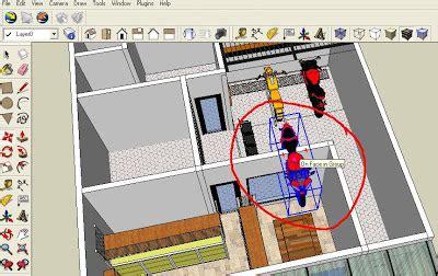 tutorial gambar sketchbook tutorial cara memasukan objek 3d sketch up dari warehouse