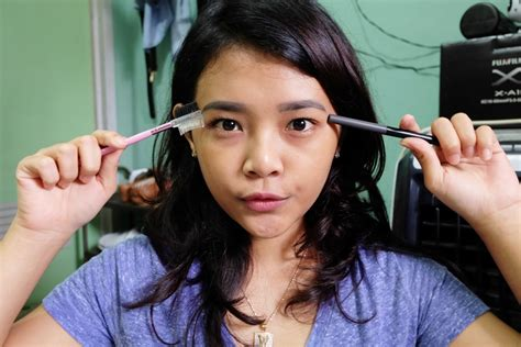 tutorial alis yang natural ririeprams beauty blogger indonesia tutorial alis natural