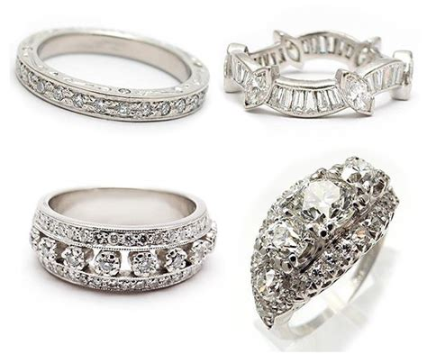 vintage engagement rings at a glance black