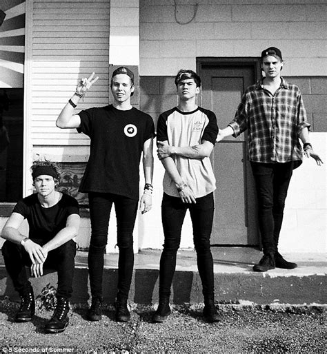 5 seconds of summer in behind the scenes photos from what