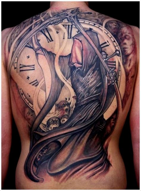 tattoo nightmares grim reaper 31 horrific grim reaper tattoo designs grim reaper
