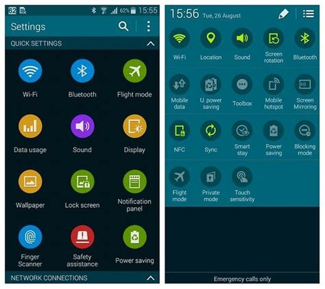 samsung galaxy s5 how to use quick settings panel in samsung galaxy s5 mini review a mini worthy of the