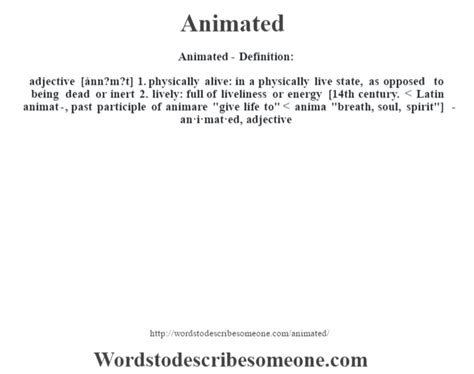 Anime Definition by Animated Definition Animated Meaning Words To Describe