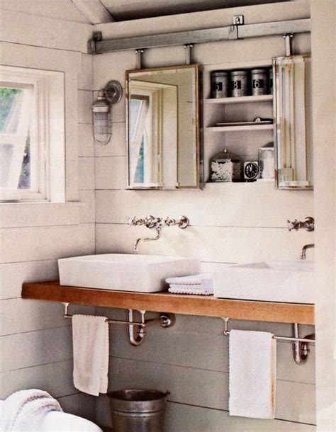barn bathroom mirrors on barn door hardware house stuff pinterest