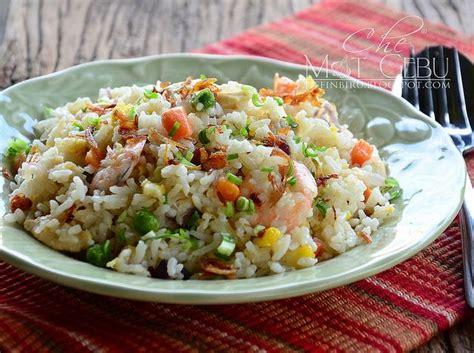 nasi goreng cina makan malam resep makanan  resep