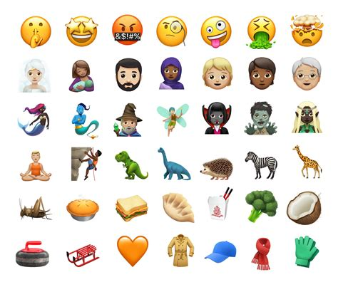 new emojis in ios 11 1