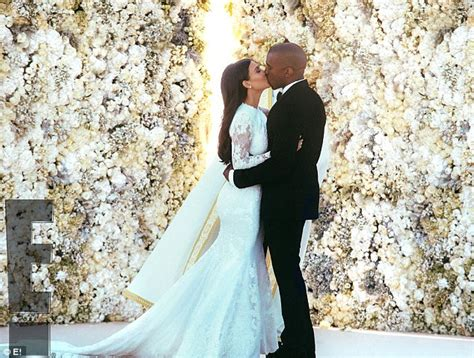 flower wall wedding cost how and kanye west wedding cost 12m daily mail