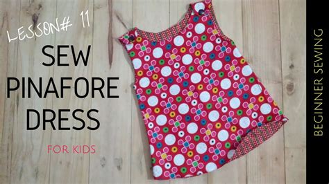 sew pinafore dress   pattern beginners