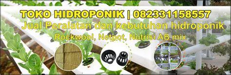 Jual Rockwool Grosir toko hidroponik murah jual peralatan hidroponik alat