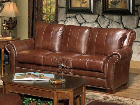 100 Top Grain Leather Sofa by Warning Leathergroups Custom And In Stock