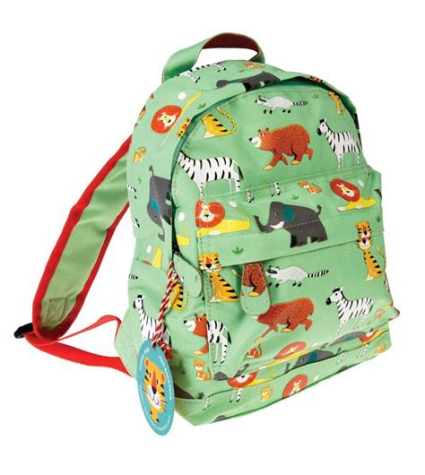 Tas Vintage 4 mini backpack animal park accesories