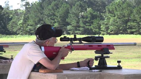 bench rest rifles benchrest rifle shootout 8 21 10 s s precision rifles argyle tx youtube