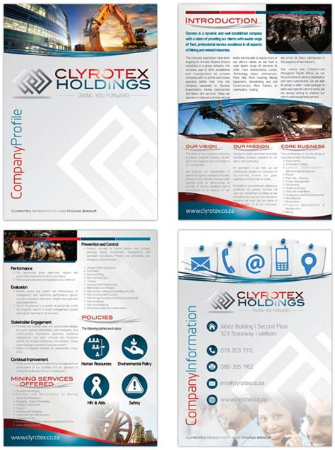 company profile designers business profile designers