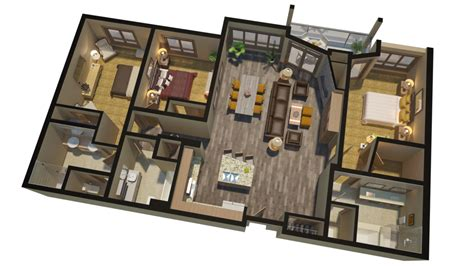 high end house plans selling high end real estate with 3d floorplans renderings
