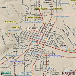 city map arizona flagstaff arizona city map flagstaff arizona mappery