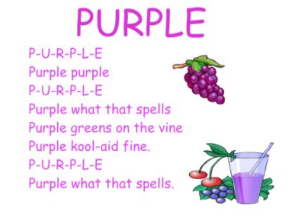 color purple song gallery poems about colours for drawings gallery