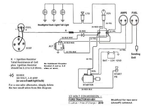 ford 601 tractor wiring diagram wiring diagram with