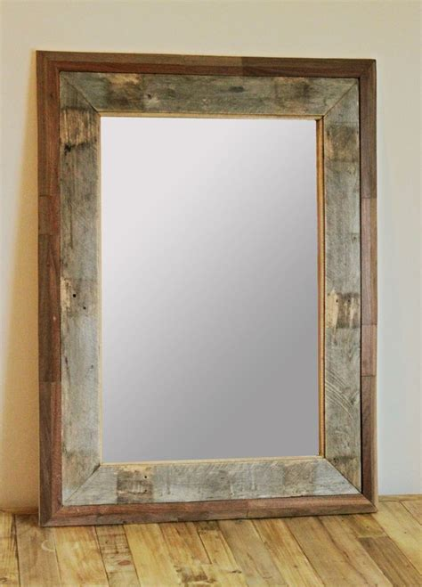 bathroom mirror wood frame 17 best ideas about pallet mirror frame on pinterest