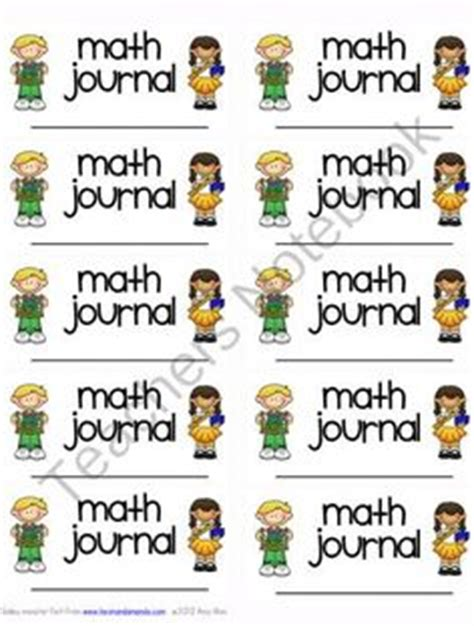 printable math journal labels math journals on pinterest math journal labels math