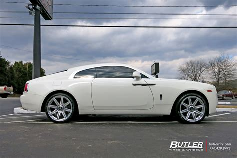 roll royce wraith on rims rolls royce wraith with 22in avant garde agl22 wheels