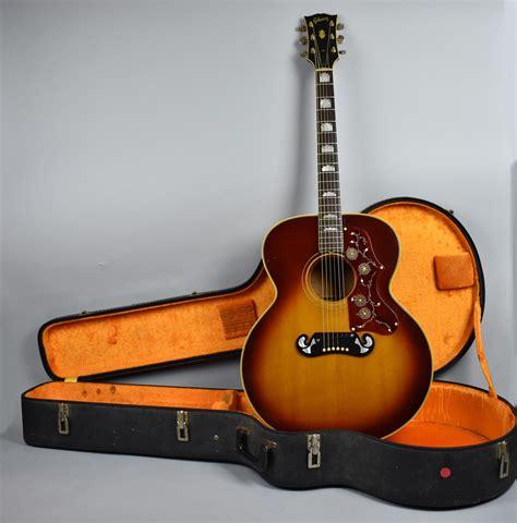 Vintage Guitar Acustic imperial vintage guitars 1967 gibson j 200 sunburst