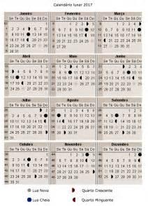 Calendario 2018 Lunar Calend 225 Lunar 2017 A Gravidez