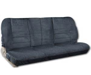 Bench With Fabric Seat Bench Seat Cover Front Scottsdale Fabric Charcoal Blue For