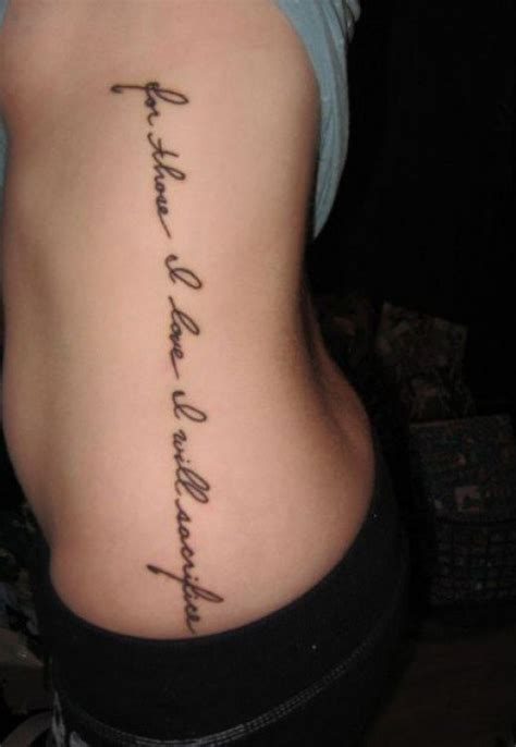 vertical back tattoo quotes tattoo ideas words phrases ii
