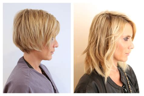 how to extension with pixie turning a pixie into a bob with extensions hair color rehab