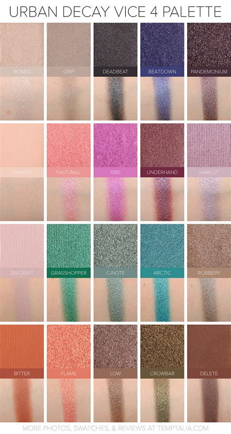 Decay Vice Palette decay new eye shadow palette vice 4 blogs forums