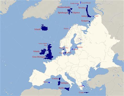 d europa isole dell europa