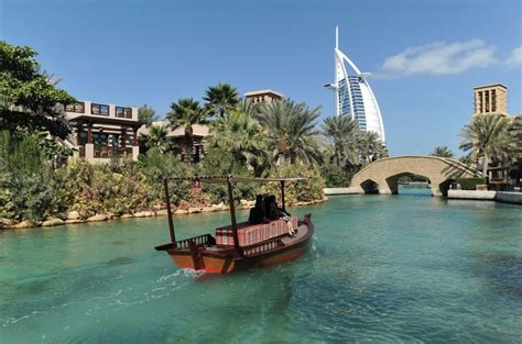 madinat jumeirah boat ride explore the popular asian destinations cruise panorama