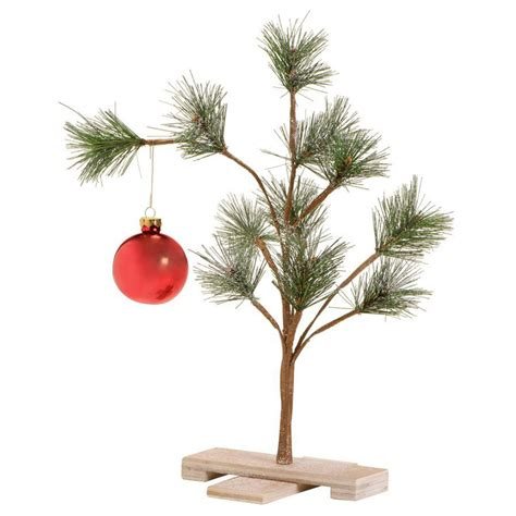 large charlie brown christmas tree grief brown pathetic tree the green