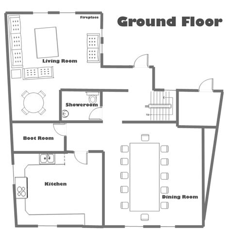 ground floor house plans chalet soltir ground floor plan total chalets