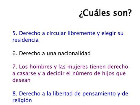 cuales son derechos humanos clase 3 iii los derechos humanos
