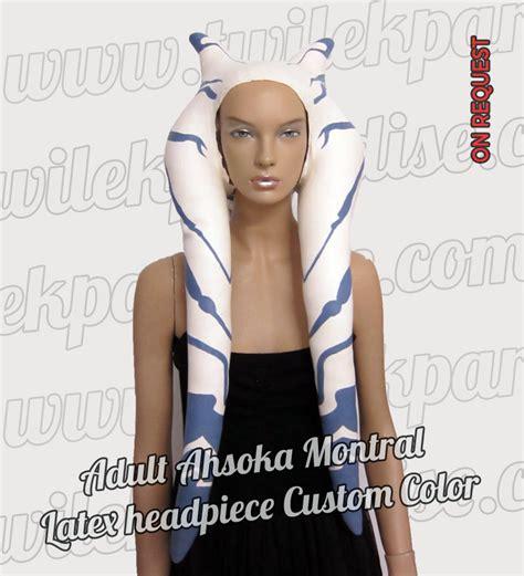 latex headpiece tutorial adult ahsoka montral twilek paradise