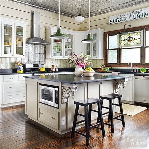 Cottage Kitchen Designs Photo Gallery by Vintage Kitchen Ideas