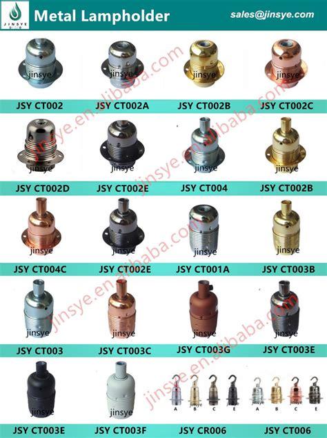 light bulb holder types brass electric e26 e27 bulb holder types buy bulb holder