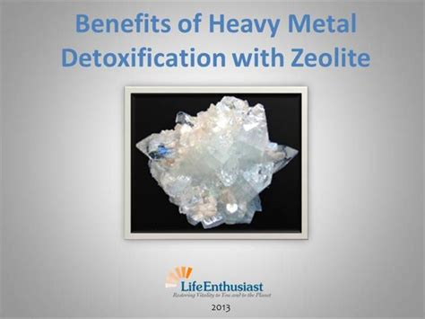Does Colostrum Help A Heavy Metal Detox by Benefits Of Heavy Metal Detoxification With Zeolite