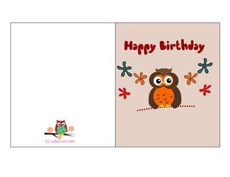 free printable birthday note cards card invitation design ideas colorful happy birthday card