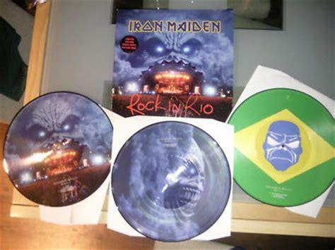 Iron Maiden Brave New World Picture Disc Vinyl