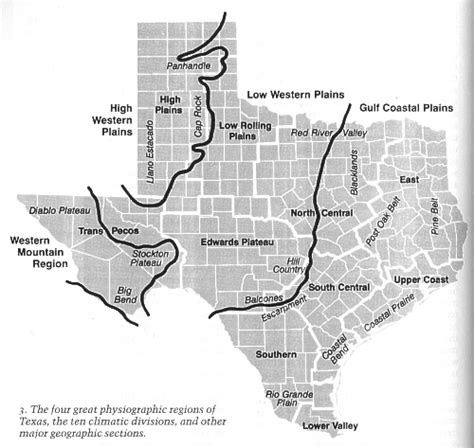 caprock escarpment texas map geography topography of wfo midland s cwa
