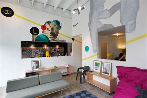 home interiors company where i work blik wall decals office tour design milk