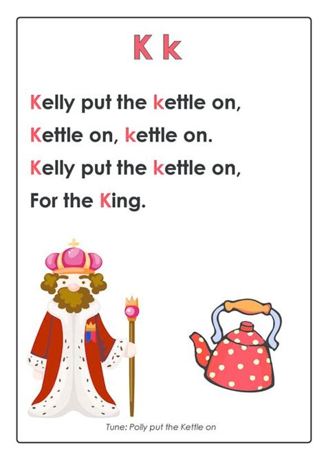 song pre k abc songs letter k activities letter k and nurseries