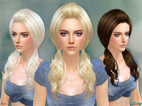 the sims resource sims 4 kids hair sims 4 hairs the sims resource ellie hair set by cazy